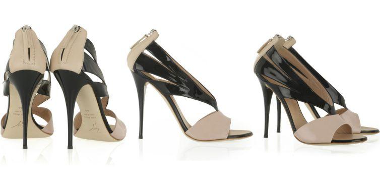 giuseppe-zanotti-cutout-patent-sandals