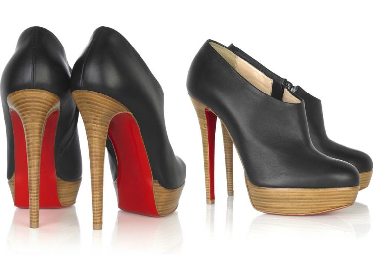 Christian Louboutin Moulage 140 shoe boots