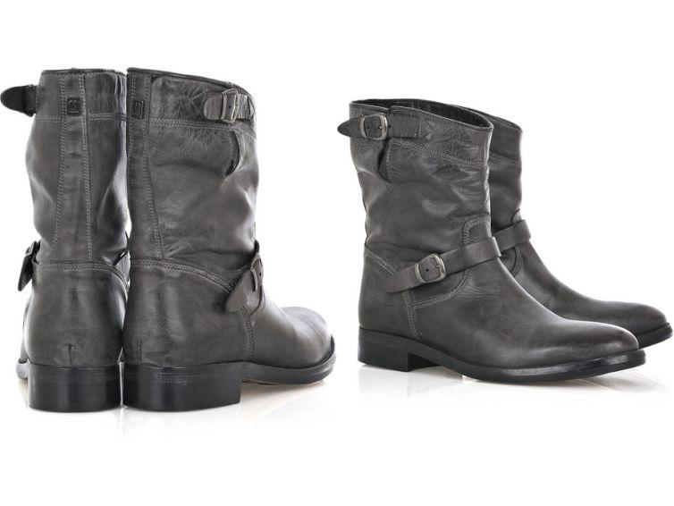 Excellent Hot Sale Fashion Women Motorcycle Boots Ladies Vintage Rivet Combat Army Punk Goth Ankle Shoes ...